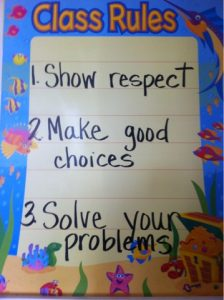 3 simple classroom rules to live by