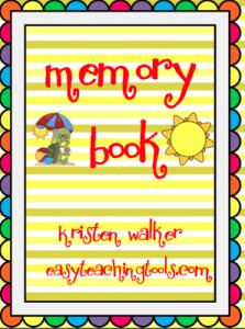 Memory Book Freebie!!!