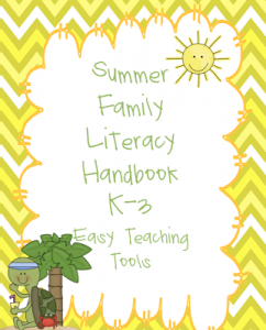 Summer Giveaway, Enter Now for a chance to win a Summer Literacy Handbook and End of the Year Memory Book