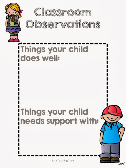 easy teaching tools, fall, conference, anxiety, back to school, teaching, first grade, second grade, k-3