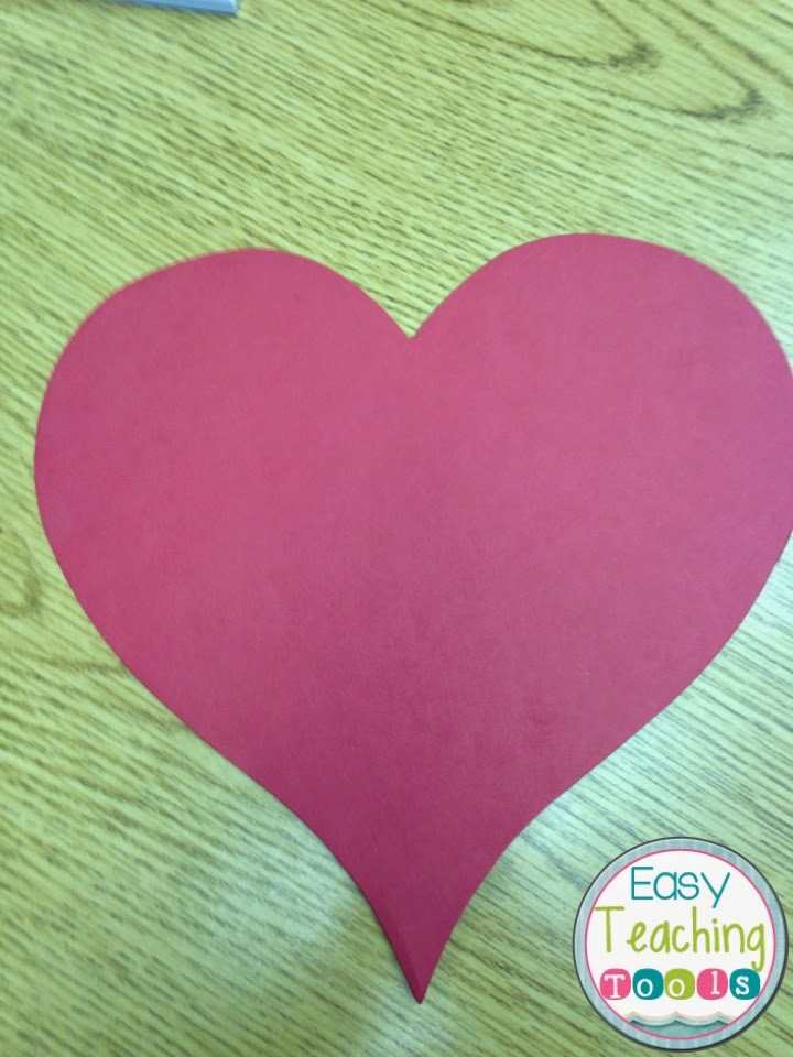 How To Make A Heart Shaped American Flag Easy Teaching Tools