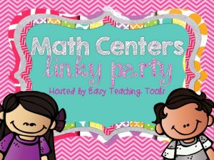 Math Centers in my Class {Part 1} Setting Up Math Centers Linky Party