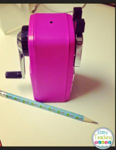 Back to School Must Haves: Part 1 {Classroom Friendly Supplies Pencil Sharpener}