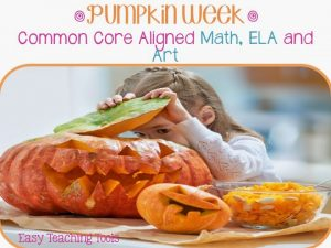 How do you celebrate Pumpkin Week?