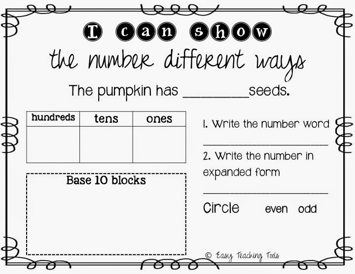 place value, base ten, expanded form, math, teaching, teachers pay teachers