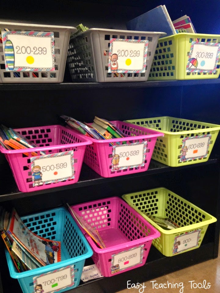 Are misplaced library books making you crazy? Organize and level your Classroom Library so that your students can put the books back in the right spot!