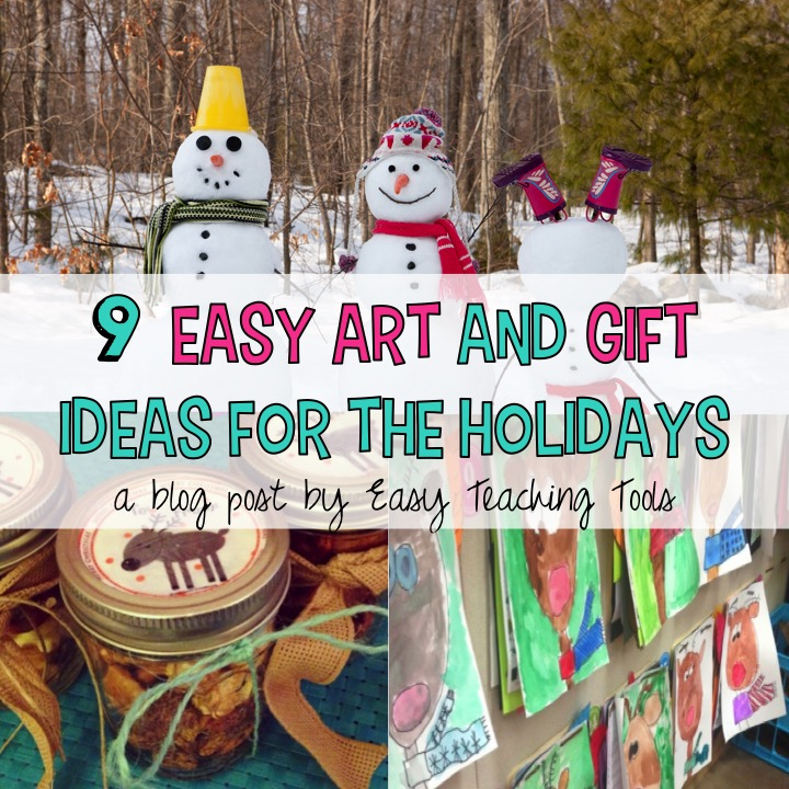 Do you need some last minute art and Christmas gift ideas? I get it; it's a hectic time of the year and you've run out of ideas.