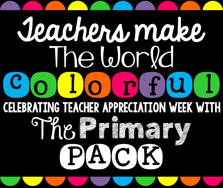Teacher appreciation and a tieks giveaway easy teaching tools happy teacher appreciation week im so excited to be teaming up with the girls from the primary pack to bring you this fabulous giveaway sciox Images