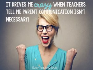 Is Parent Communication Really Necessary?