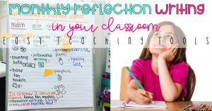 Monthly Reflection Writing