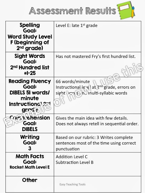 https://www.teacherspayteachers.com/Product/Parent-Teacher-Conference-Packet-simple-and-easy-935710