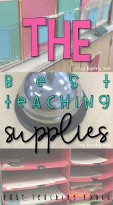 Teacher Supplies that you Need!