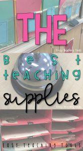 Teacher Supplies that you Need!