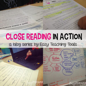 Close Reading in Action in the Primary Classroom