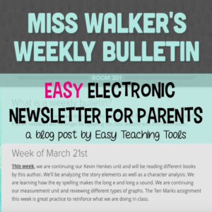 The easiest and best parent newsletter