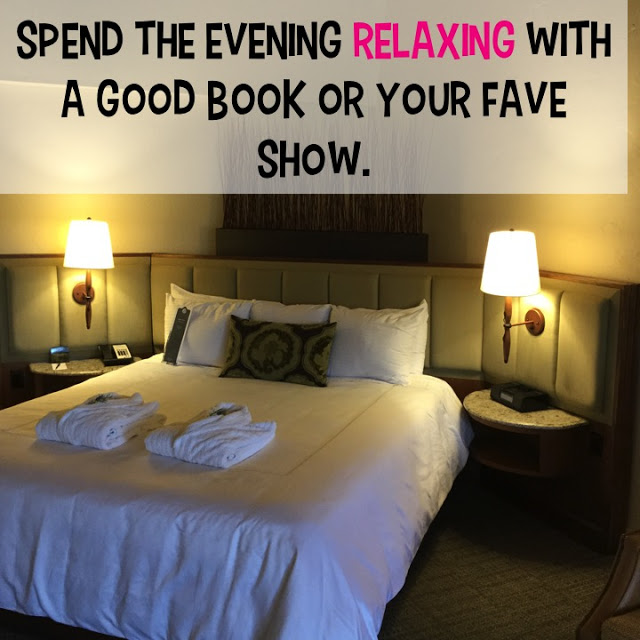 Pick one week per night if you can, to just zone out.  Whether it be with your favorite book, gossip magazine, or if you're like me, an episode of the Housewives.