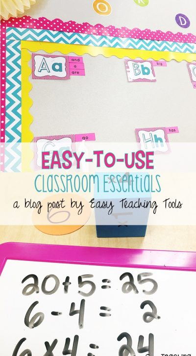 Increase engagement with these classroom essentials are easy-to-use in your classroom.
