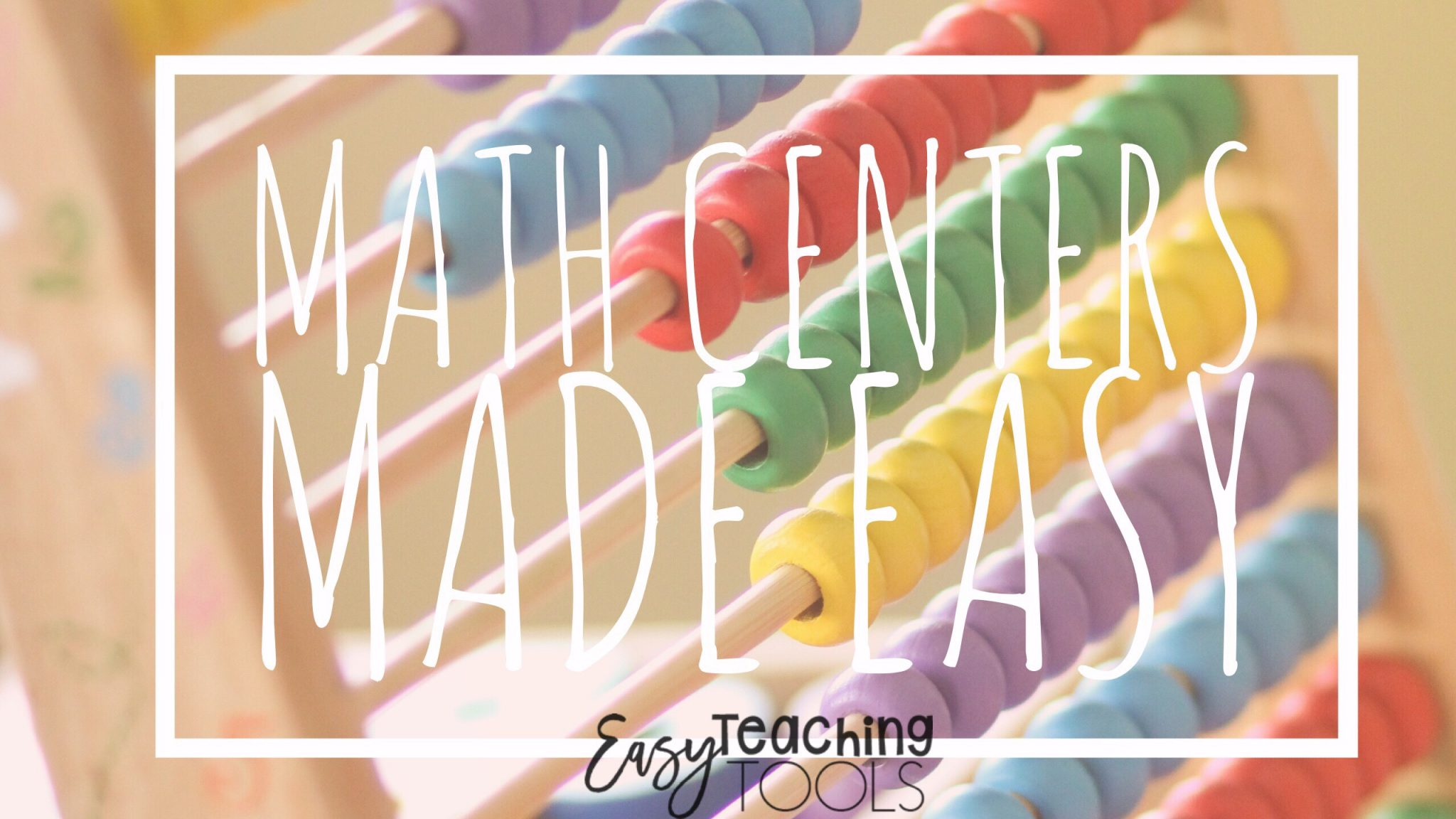 Have you wanted to start math centers but don't know how?  Not sure how to organize and manage them.  I've got easy ideas to get them started tomorrow!