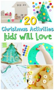 20 Christmas Activities Kids will Love