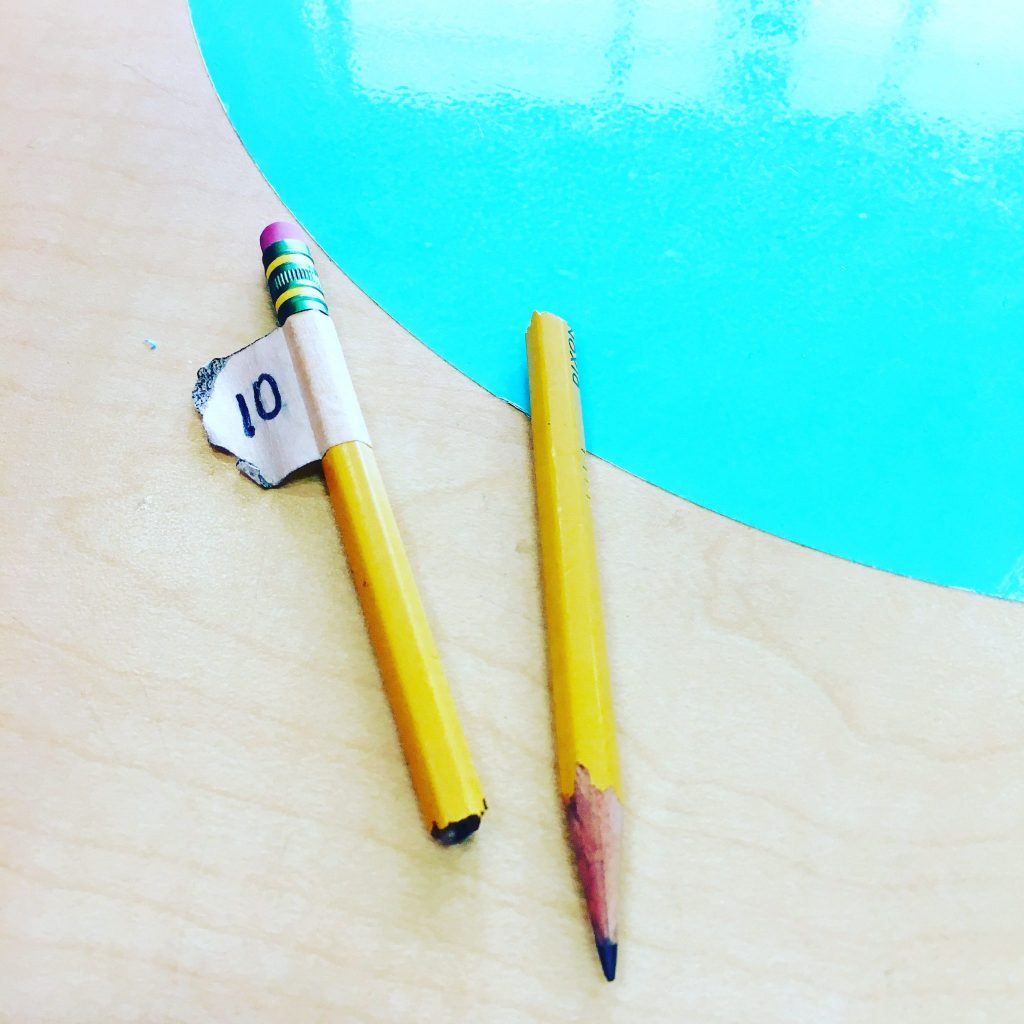 I've got a challenge for you and your class that will teach your students to value their materials while saving you money on pencils. The Great Pencil Challenge has been a life saver in our classroom this year!