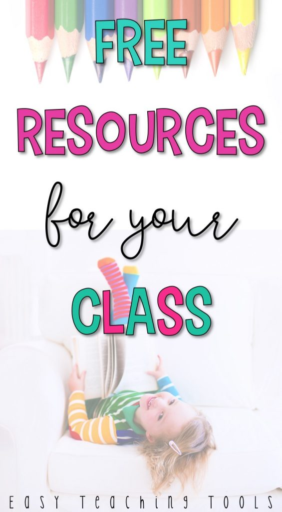 Tons of free resources to download for your classroom and use tomorrow!