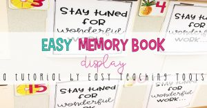 Have you made this easy memory book? (Part 2)