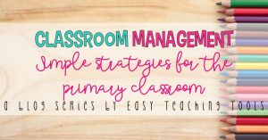 Consistency with Classroom Management