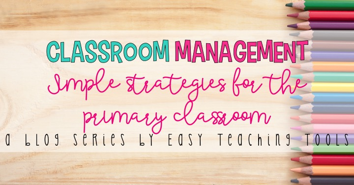 I've got a few ways to help you have consistency with classroom management.
