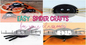15 Halloween Spider Crafts for the Classroom