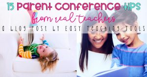 15 Parent Conference Tips from Real Teachers