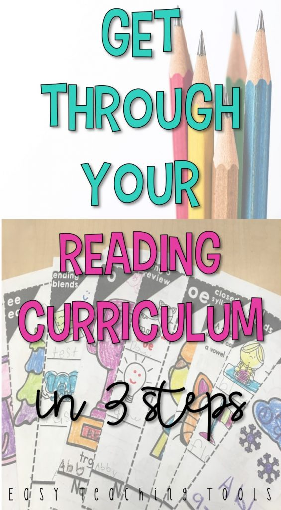 Let me show you how to get through your reading curriculum in 3 easy steps. Let's bring the fun back into teaching phonics!