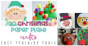 20 Christmas paper plate crafts