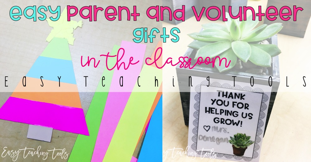 Classroom christmas gift ideas for parents