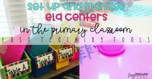 Set up and manage ELA Centers