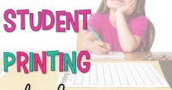 Is messy printing common in your classroom?  Are students apathetic to trying to write neatly? Let's get our students printing neatly in a fun and engaging way with a printing contest.  I've been doing this friendly competition for a long time and it's always a hit with my students.