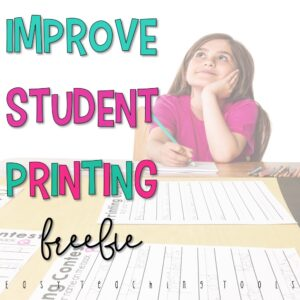 Improve student printing in your class