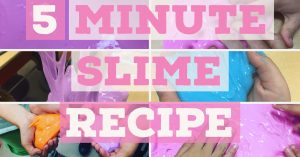Easy Slime Recipe for your Classroom
