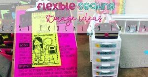 Flexible Seating Storage