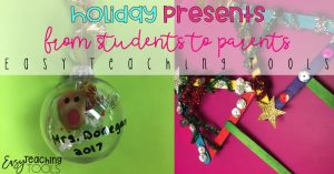 Holiday Presents for Parents from Kids