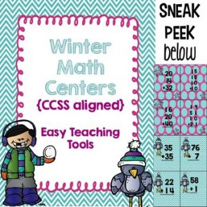2nd Grade CCSS Math Centers