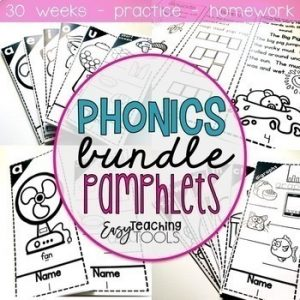 Phonics Pamphlets Bundle