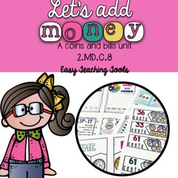 Adding Money Math Center