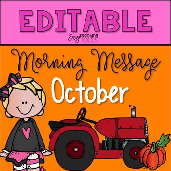 Morning Message Assignments
