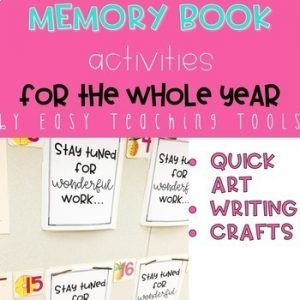 Year Long Memory Book