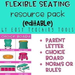 Flexible Seating Resource Pack