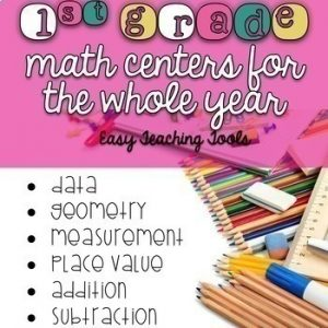 Math Centers for the Year