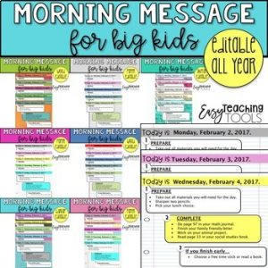 morning message bundle