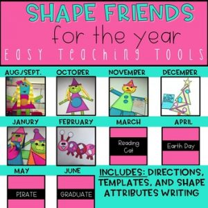 shape friends attributes craft