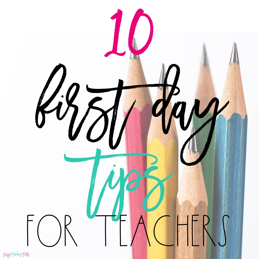 Have you ever wondered how teachers make it through the first day of school? Make sure you consider these 10 Things to Have on Hand for Your First Day Back as you gear up for the first day of your next school year!